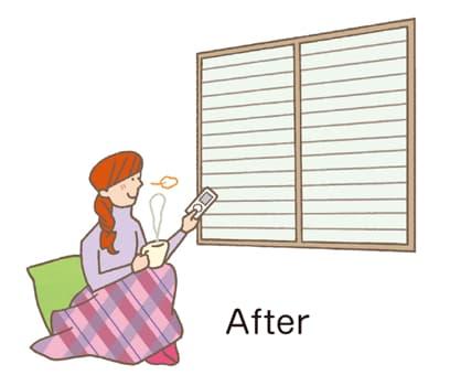 窓の犯罪after