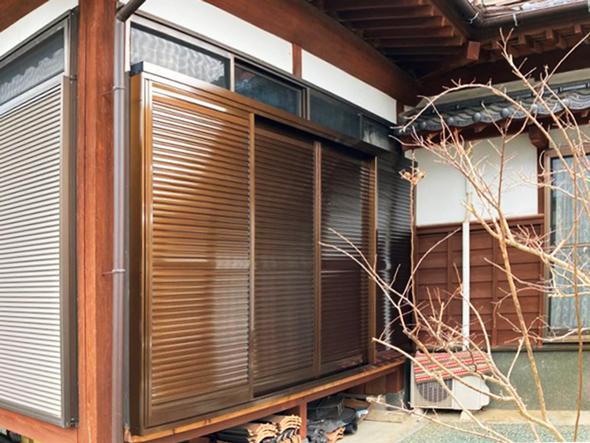 エコ引違い雨戸 施工例