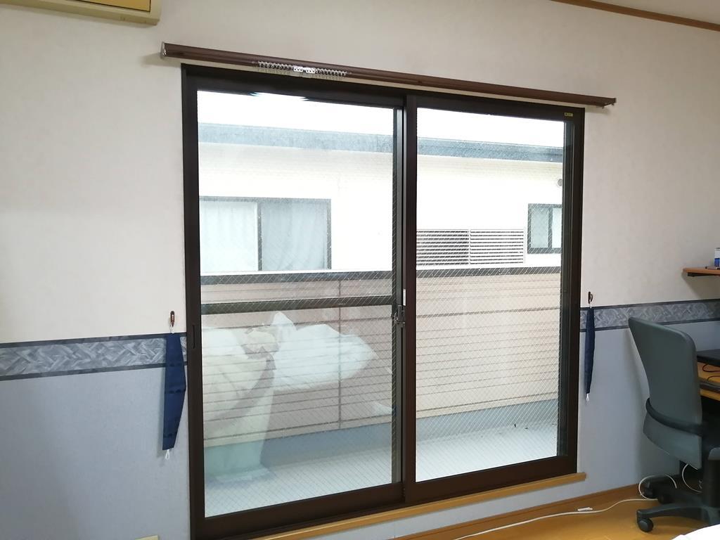 内窓インプラスで二重窓に。 騒音が消えて、エアコンの効きがよくなった! in熊本市中央区