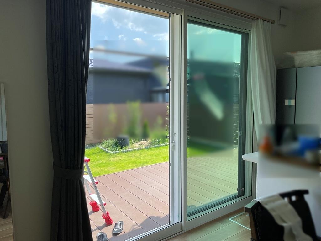 車の走行音が聞こえなくなった。内窓プラストで騒音対策 in宮崎県都城市